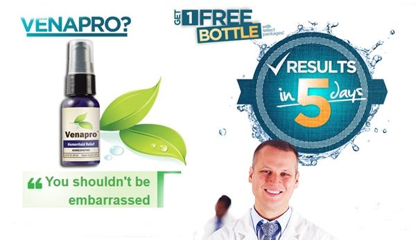 Venapro Review Buy Hemorrhoid Relief Formula Best Fitness Box